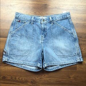 Tommy Hilfiger Vintage High Rise Jean Shorts